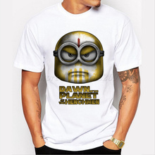 Asian Size Dawn Of The Planet Of The Henchmen hipster design men funny t-shirt short sleeve casual tops retro minion printed tee(China)