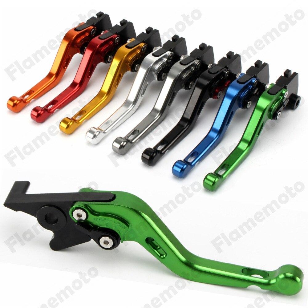 Motorcycle Parts New Short CNC Brake Clutch Levers For Kawasaki ZX-6 ZZR600 ZX9R ZR750 ER-5 W800 NINJA 650R ZXR400 Z750S GPZ500S<br><br>Aliexpress