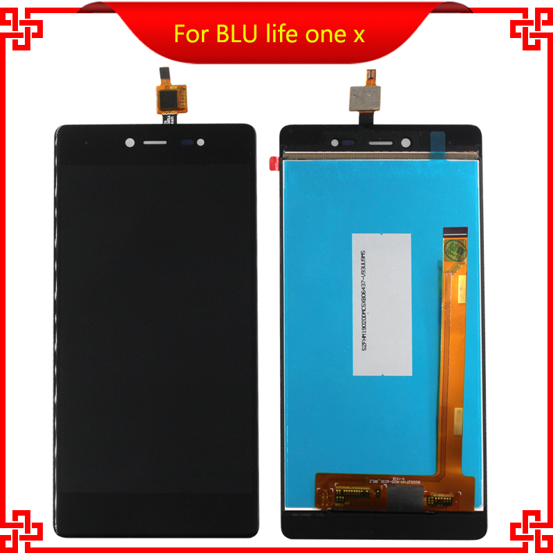 Original Quality For BLU life one x LCD Display Touch Screen digitizer Assembly 5PCS/Lot for BLU life one x Free  Tools<br><br>Aliexpress
