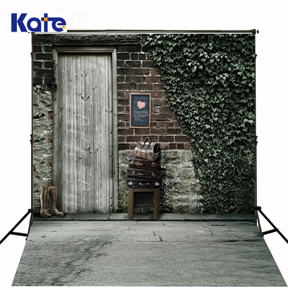New Arrival Background Fundo Luggage Shoes Outside The Door 300Cm*200Cm(About 10Ft*6.5Ft) Width Backgrounds Lk 2253<br>