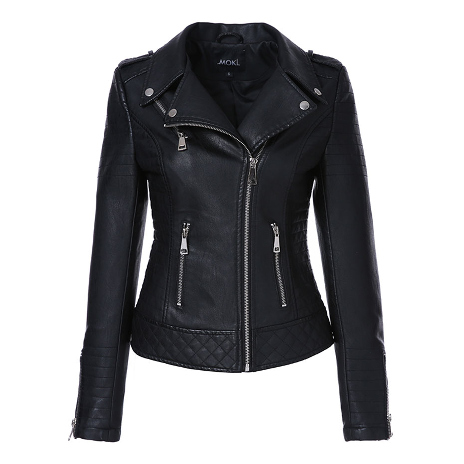 Short Leather Jacket  (1)