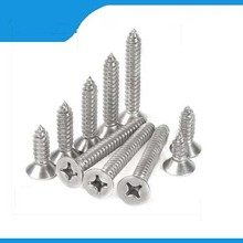 Free shipping 50PCS M1.7x6/8/10mm Screws cross Flat Round Head Fit Hinges Countersunk Self-Tapping Screws Wood Hardware Tool