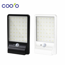 500LM 42led Solar Lamp Outdoor Waterproof Motion Sensor Detector Lamp Sconces Lighting Garden Wall Lamp(China)