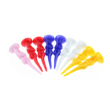 "10pcs/pack size 80mm/ 3.15"" Sexy Girl design Plastic Golf Tees colorful Golf Ball Nails"