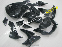 Hot Sales,All Black Body Kit for KAWASAKI Z1000 2007-2009 Z 1000 07-09 07 08 09 ABS Custom Motorcycle Bodyworks Fairings set