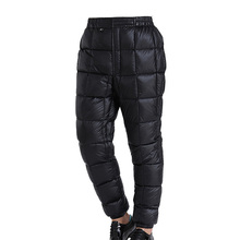 Black Ice Men/Women Aurora 100/200 Ultra-light Goose  Down wadded Trousers Pants S/M/L  Fitness Outdoor Sport Clothing