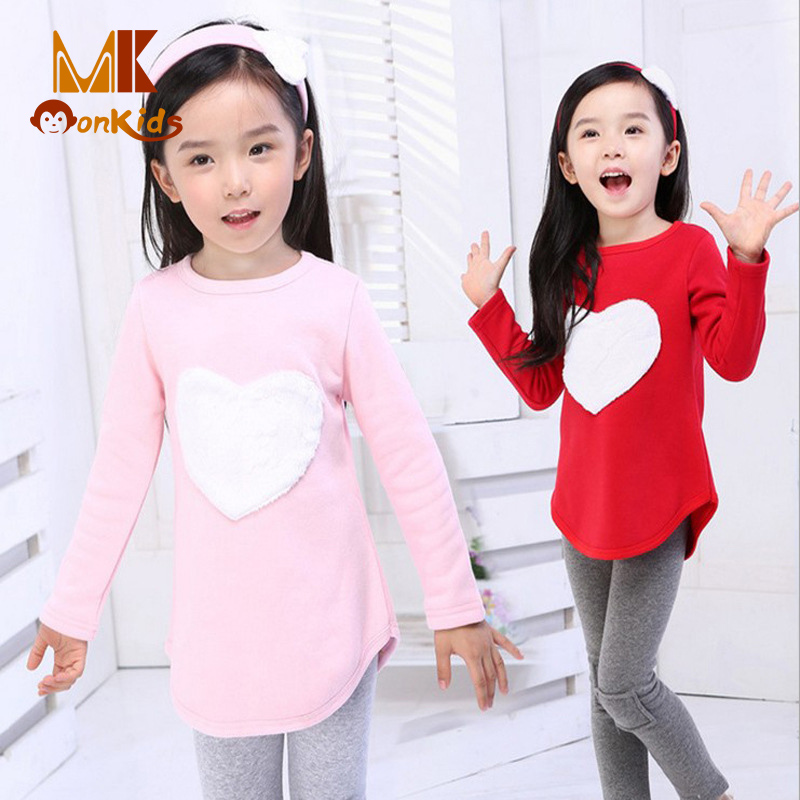 Monkids 2017 Autumn Featured Baby Girl Clothes Love Three-piece Baby Suit Kids Clothes Long-sleeved Girls Clothing Sets <br><br>Aliexpress