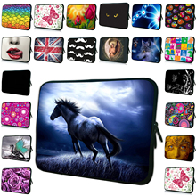 "Retail Zipper 10"" 12"" 13"" 14"" 15"" 7"" 7.9 11.6"" 17"" Notebook Laptop Sleeve Bag Cover Cases Neoprene Protector Pouch For Acer Dell(China)"