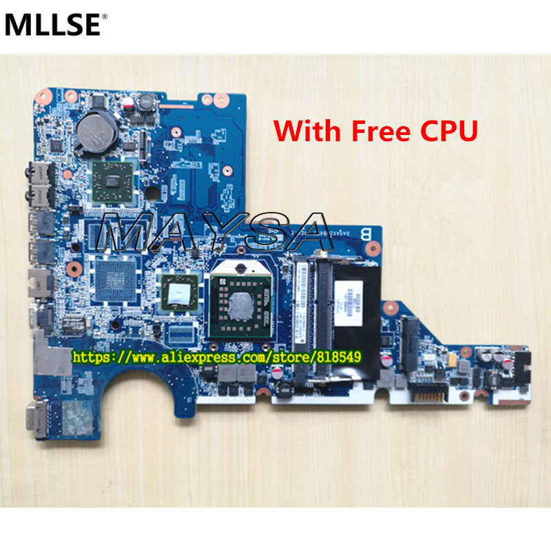 592809-001 623915-001 mainboard DA0AX2MB6E1 REV: E With Processor Fit For HP/ Compaq CQ62 G62 CQ42 G42 Notebook PC<br>