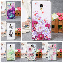 Meizu M3 Note Case Lovely Cute Cartoon 3D Relief Soft Silicon Back Cover Case For Meizu M3 Note Clear TPU Protector Funda Capa