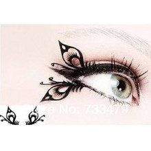 Free shipping Butterfly art paper cutting false eyelashes chinese style paper cutting false eyelashes(China)