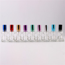xyz - Stylish 12ml Unique Mini Glass Perfume Bottles With Spray Lovely Bear Refillable Parfum Bottles Atomizer
