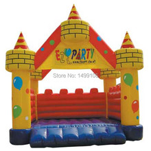 1pc Free shipping balloon bouncy castle sales,big bouncy castle,bouncy castle manufacturers(China)