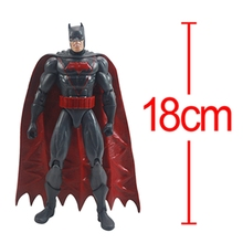 New Batman Action Figure Super Heroes Avengers Figure Kids Toy Collection Model for Chirldren Gift(China)
