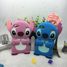 3D Cartoon Stitch Soft Silicon Cover Phone Case For Sony Xperia Z1 Z3 Mini E4 C3 Z4 J M5 Z5 E4G XA T3 M T2 C4 C5 C E5