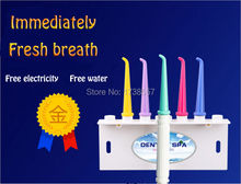 limpeza DOS dentes DS-A Home Portable Oral Irrigator Dental SPA Unit Healthy Water Floss Jet Pick Oral Hygiene Teeth Cleaning