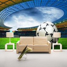 beibehang custom football wallpaper cartoon non-woven wallpaper background wallpaper the bedroom bedside World Cup theme site(China)