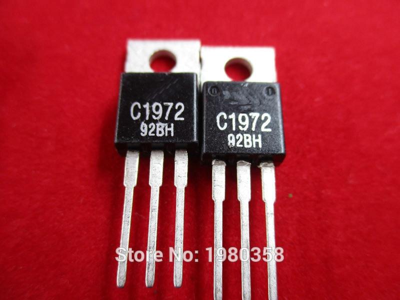 1Pcs 2SC1972 Mitsubishi transistor RF TO-220 C1972 Brand New#R2020