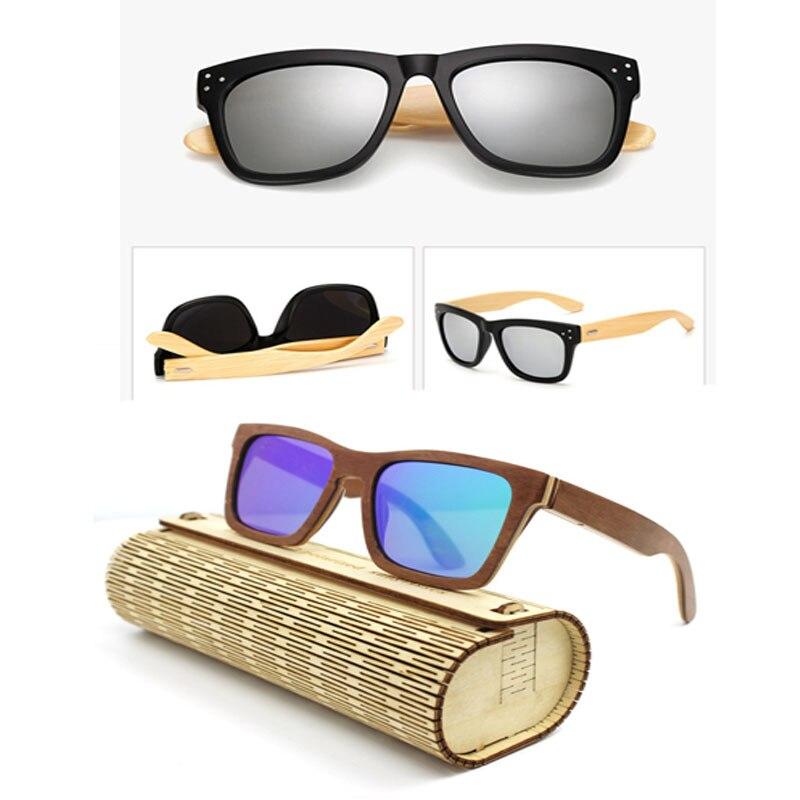2017 New Fashion Men Women Bamboo Handmade Anti Glare Wooden Sunglasses<br><br>Aliexpress