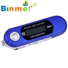 USB 32G TF card Slot supported USB Flash MP3 U Disk Player With FM Radio_KXL0612
