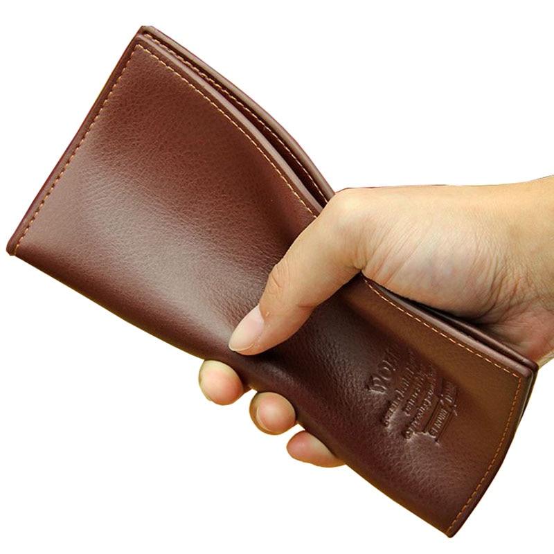 2017 New Leather Wallet Brand Mens Long Design Wallets 2 Folder Standard Wallets Fashion Card Holder Coin Purse Leather Bag<br><br>Aliexpress