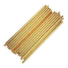 Drink Straw 2017 hot sale Environmental protection 25PCS Gold Drink Paper Straws Birthday Party Supplie dropship chrismas 17sep4