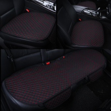 Buy KKYSYELVA 3pcs/set Car interior Accessories Seat Cover Black universal Black Auto seat cushion Car seat seat covers for $41.35 in AliExpress store