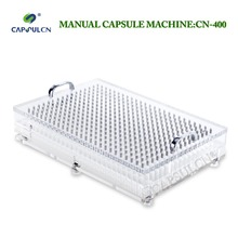 Size 4 Manual Capsule Filler CN-400/Capsule Filling Machine/Fillable Capsules Machine, From Capsule Filler Manufacturer