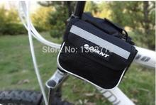 2pcs Giant Bicycle Mountain Bike Cycling Sport Frame Tube Double Sides Saddle Bag Mobile Phone Key Case Pouch (Size14.5*5*12cm)