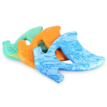 3 Colors Kickboard Swimming Board Learner Fish Shape Kickboard Swim Assist Floating Plate Swimming Board For Children Adults