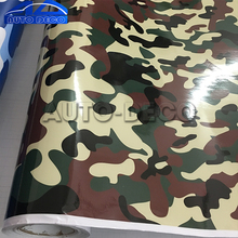 Jungle Camouflage Vinyl Car Wrap Forest DIY Camo Film Adhesive Motorcycle Scooter Wrapping Decal Sticker PVC sheet
