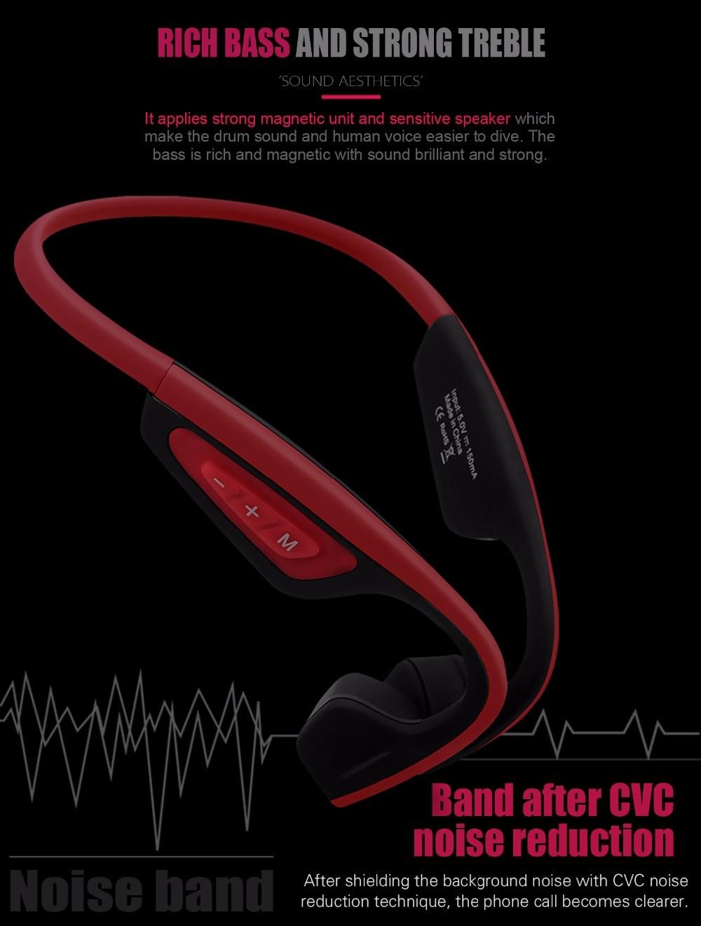 Newest LF-19 Open Ear Wireless Bluetooth Stereo Headsets Waterproof Neck-strap Earphones Bone Conduction Headsets Hands-free