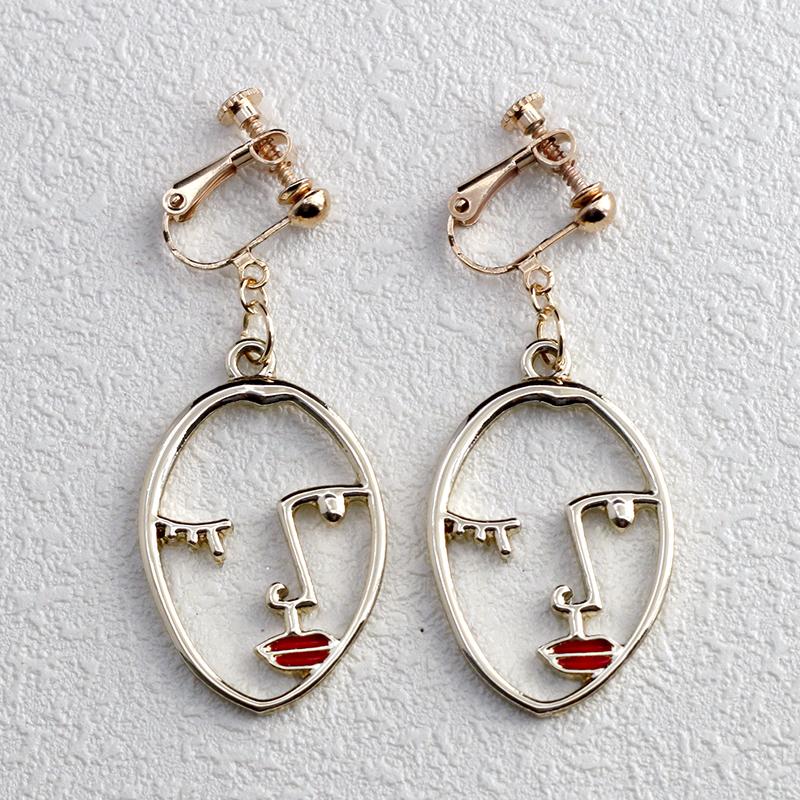 Metal Statement Earring Jewelry CE 122