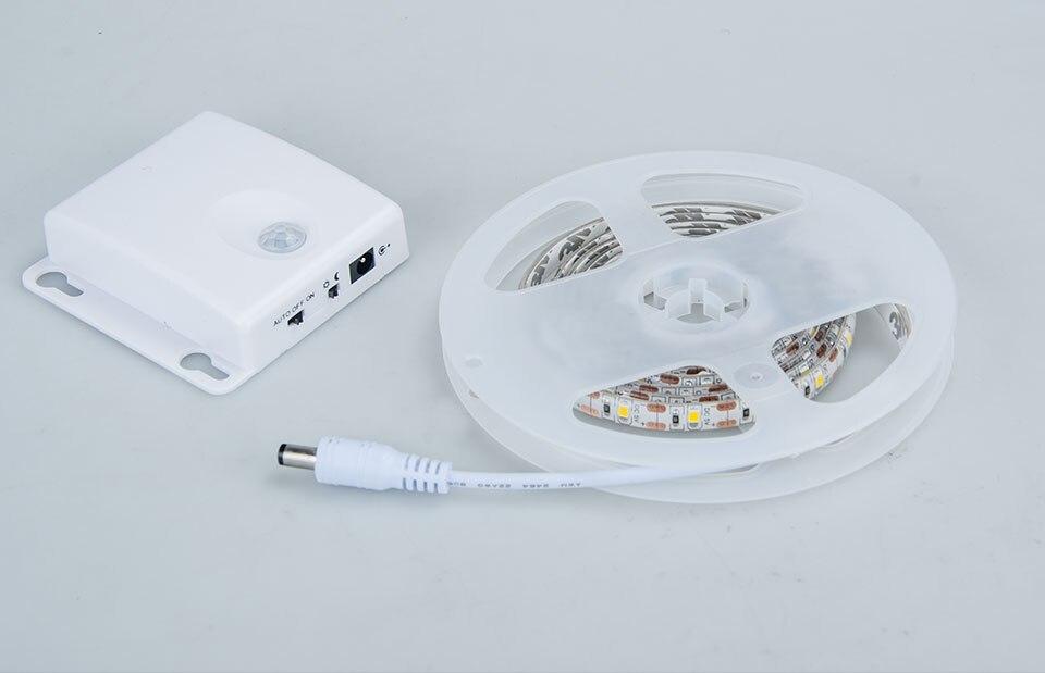 RGB LED motion sensor tape light (10)