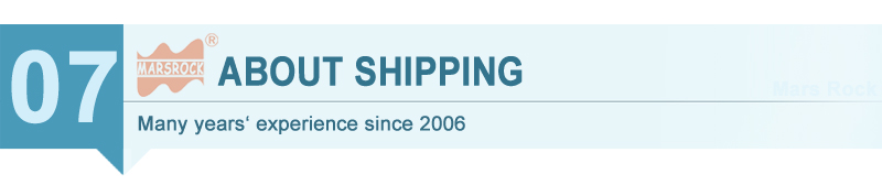 07ABOUT SHIPPING