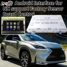Sensor Control Android 6.0 Navigation Interface Two-in-one Unit for New Lexus NX supprot Mobilephone Miracast , Side Cameras(China)