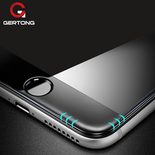 Buy GerTong 4D Round 3D Curved Full Cover Tempered Glass iPhone 6 6S 7 Plus 8 X Premium Screen Protector Glass Protective Film for $2.53 in AliExpress store