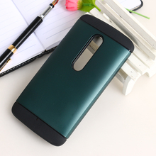 Colorful Hard Plastic And Soft TPU Hybird Slim Armor Dual Layer Combo Case For Motorola Moto X Play 5.5 inch XT1562 XT1563 Cover