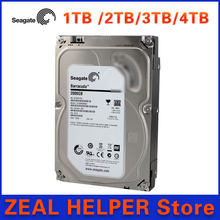 Seagate 1TB /2TB/3TB/4TBSATA HDD 3.5 inch Hard Disk Drive For CCTV Camera DVR NVR Security SYSTEM and PC