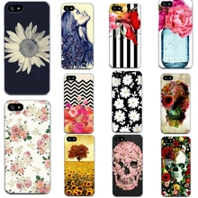 Flower Phone Bags For Iphone 5 5S SE Cases Soft Cover Popular Cases For Apple Iphone5 5S SE Thin Protective Phone