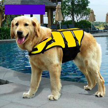 Oxford Pet Dog Swimwear Pet Rescue Body Clothing Dog Swim Suit Life Jackets For Small Dogs Pet Supplies Size S M L