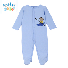 Baby Rompers Blue Cute Baby Boys Girls Clothes New born roupas de bebe Baby Infant Summer Baby Boys Jumpsuits Footed Coverall