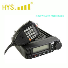 best price 60W VHF OR UHF mobile ham radio with PC programmer TM-8600 Mobile car Radio(China)