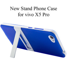 "New Stadn Phone Case BBK for vivo X5 Pro Case Cover 5.2"" TPU Full Protective Stand Phone Back Cover Fundas Cover for vivo X5 Pro(China)"