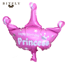 Crown Foil Balloons big classic toys air balloon inflatable helium Balloon happy birthday balloon wedding baby shower decoration