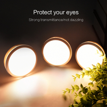 6 LED SMD 2835 night light USB 600mAh LI battery motion PIR sensor bed lamp For Baby Bedroom Gift Romantic led light(China)