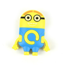 Downloading Music MP3 Player Minions Despicable ME 2 Movie & TV Minion Mini Mp3 Music player 1 PCS Christmas Birthday Gift