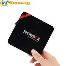 2017 New tv box Showbox S95 Android 7.1 RK3328 Quad-core Support USB 3.0 Google Play Multi Language smart media player S 95(China)