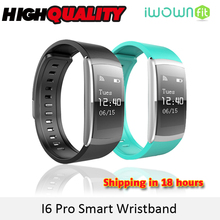 Buy New IWOWN IWOWNFIT I6 PRO Smart Wristband Heart Rate Monitor IP67 Waterproof Smart Bracelet Fitness Tracker support Andriod IOS for $22.30 in AliExpress store