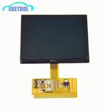 High Quality Fits Audi A3 A6 LCD VDO Display Cluster Screen For Audi VW Passat/Seat New Version Excellent Free Shipping